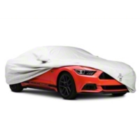 Covercraft Deluxe Custom-Fit Car Cover - Tri-Bar Pony Logo - Coupe (2015 All) - Covercraft C17794-TT-FD-27