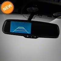 Raxiom Auto-Dimming Rear View Mirror w/ 3.5in Display and Camera (05-14 All) - Raxiom PARENT