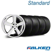 Nova Chrome Wheel & Falken Tire Kit - 18x9 (94-98 All) - American Muscle Wheels KIT||79560||mb1||27210
