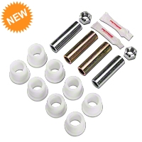 Maximum Motorsports Delrin Bushings for MM Front Lower Control Arms (79-04 All) - Maximum Motorsports MMFCAB-2