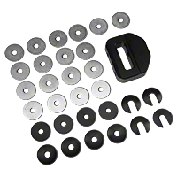 Maximum Motorsports IRS Differential Bushings - Aluminum (99-04 Cobra) - Maximum Motorsports MMIRSB-40.1