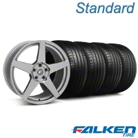 Forgestar CF5 Monoblock Gunmetal Wheel & Falken Tire Kit - 18x9 (94-98 All) - American Muscle Wheels KIT||29840||79560||mb1
