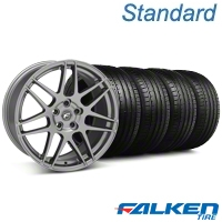 Forgestar F14 Monoblock Gunmetal Wheel & Falken Tire Kit - 18x9 (94-98 All) - Forgestar KIT||29842||mb1||79560
