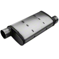 Magnaflow XL Performance Series Offset 4x9 Muffler - 3 in. Satin (79-04 All, Excludes 99-04 Cobra) - Magnaflow 13269