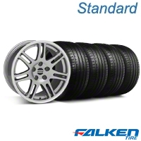 10th Anniversary Cobra Anthracite Wheel & Falken Tire Kit - 18x9 (94-98 All) - American Muscle Wheels KIT||28347||79560||mb1