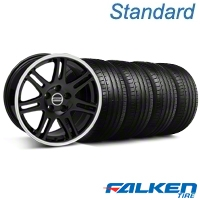 10th Anniversary Cobra Black Wheel & Falken Tire Kit - 18x9 (94-98 All) - American Muscle Wheels KIT||28348||mb1||79560