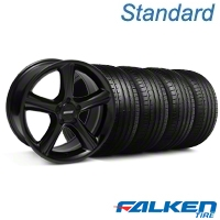 2010 GT Premium Style Black Wheel & Falken Tire Kit - 18x9 (94-98 All) - American Muscle Wheels KIT||28210||79560||mb1