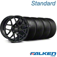 AMR Black Wheel & Falken Tire Kit - 18x9 (94-98 All) - American Muscle Wheels KIT||33782||mb1||79560