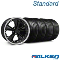 Foose Nitrous Black Wheel & Falken Tire Kit - 18x9 (94-98 All) - Foose KIT||32817||mb1||79560