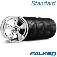 Bullitt Chrome Wheel & Falken Tire Kit - 18x9 (94-98 All) - American Muscle Wheels KIT||mb1||28265||79560