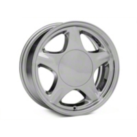 Chrome Pony Style Wheel - 16x7 (87-93; Excludes 93 Cobra) - American Muscle Wheels 384576