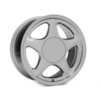 Chrome Pony Style Wheel - 5 Lug - 17x9 (87-93; Excludes 93 Cobra) - American Muscle Wheels 384579