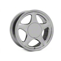 Chrome Pony Style Wheel - 17x8 (87-93; Excludes 93 Cobra) - American Muscle Wheels 384582