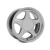 Chrome Pony Style Wheel - 17x9 (87-93; Excludes 93 Cobra) - American Muscle Wheels 384585