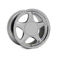 Chrome Pony Style Wheel - 17x10 (87-93; Excludes 93 Cobra) - American Muscle Wheels 384588