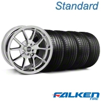 FR500 Chrome Wheel & Falken Tire Kit - 18x9 (94-98 All) - American Muscle Wheels KIT||mb1||28273||79560