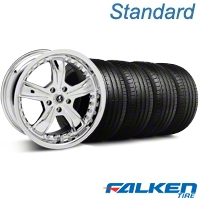 Shelby Razor Chrome Wheel & Falken Tire Kit - 18x9 (94-98 All) - Shelby KIT||79560||mb1||27226