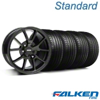 FR500 Gloss Black Wheel & Falken Tire Kit - 18x9 (94-98 All) - American Muscle Wheels KIT||28474||mb1||79560