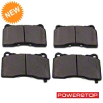 Power Stop Z26 Extreme Performance Ceramic Brake Pads - Front Pair (11-14 GT Brembo, 12-13 BOSS, 07-12 GT500) - Power Stop Z26-1001