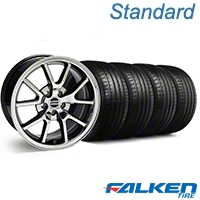 FR500 Black Chrome Wheel & Falken Tire Kit - 18x9 (99-04 All) - American Muscle Wheels KIT||10103||mb1||79561