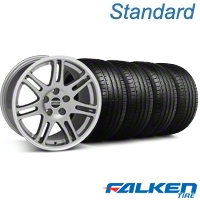 10th Anniversary Cobra Anthracite Wheel & Falken Tire Kit - 18x9 (99-04 All) - American Muscle Wheels KIT||79561||28347||mb1