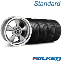 Deep Dish Bullitt Anthracite Wheel & Falken Tire Kit - 18x9 (99-04 All) - American Muscle Wheels KIT||79561||mb1||28322