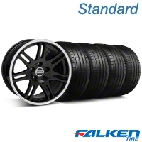 10th Anniversary Cobra Black Wheel & Falken Tire Kit - 18x9 (99-04 All) - American Muscle Wheels KIT||79561||28348||mb1
