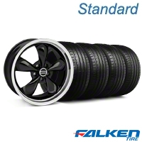 Bullitt Black Wheel & Falken Tire Kit - 18x9 (99-04 All) - American Muscle Wheels KIT||28264||mb1||79561