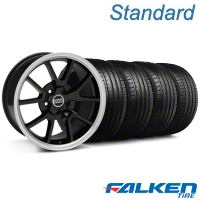 FR500 Black Wheel & Falken Tire Kit - 18x9 (99-04 All) - American Muscle Wheels KIT||mb1||79561||28272