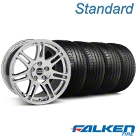 10th Anniversary Cobra Chrome Wheel & Falken Tire Kit - 18x9 (99-04 All) - American Muscle Wheels KIT||79561||28346||mb1