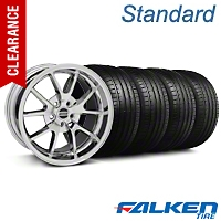 FR500 Chrome Wheel & Falken Tire Kit - 18x9 (99-04 All) - American Muscle Wheels KIT||79561||28273||mb1