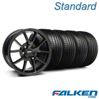 FR500 Gloss Black Wheel & Falken Tire Kit - 18x9 (99-04 All) - American Muscle Wheels KIT||mb1||28474||79561