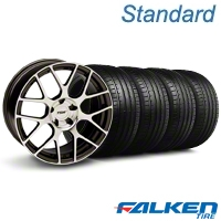 TSW Nurburingring Gunmetal Wheel & Falken Tire Kit - 18x9 (99-04 All) - American Muscle Wheels KIT||mb1||27353||79561