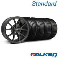 FR500 Matte Black Wheel & Falken Tire Kit - 18x9 (99-04 All) - American Muscle Wheels KIT||28473||mb1||79561