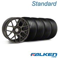 TSW Nurburingring Matte Gunmetal Wheel & Falken Tire Kit - 18x9 (99-04 All) - TSW 79561||mb1||27352||KIT
