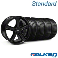 2010 GT Premium Style Black Wheel & Falken Tire Kit - 18x9 (05-14 All) - American Muscle Wheels KIT||79569||mb1||28210