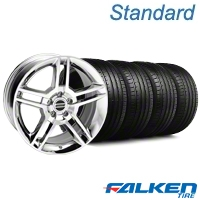 2010 GT500 Chrome Wheel & Falken Tire Kit - 18x9 (05-14 All) - American Muscle Wheels KIT||28220||79569
