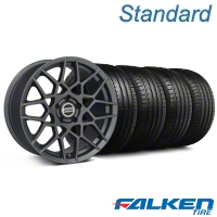 2013 GT500 Charcoal Wheel & Falken Tire Kit - 18x9 (05-14 All) - American Muscle Wheels KIT||99368||79569