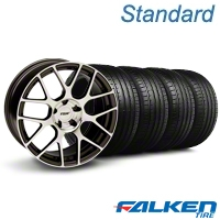 TSW Nurburgring Gunmetal Wheel & Falken Tire Kit - 19x8.5 (05-14 All) - American Muscle Wheels KIT||79571||mb1||27360