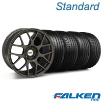 TSW Nurburgring Matte Gunmetal Wheel & Falken Tire Kit - 19x8.5 (05-14 All) - TSW KIT||27361||79571||mb1