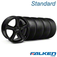 2010 GT Premium Black Wheel & Falken Tire Kit - 19x8.5 (05-14 All) - American Muscle Wheels KIT||28230||79571