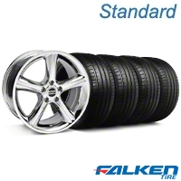 2010 GT Premium Chrome Wheel & Falken Tire Kit - 19x8.5 (05-14 All) - American Muscle Wheels KIT||28231||79571