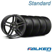 2010 GT500 Black Wheel & Falken Tire Kit - 19x8.5 (05-14 All) - American Muscle Wheels KIT||28236||79571