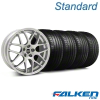 AMR Silver Wheel & Falken Tire Kit - 19x8.5 (05-14 All) - American Muscle Wheels KIT||33803||79571