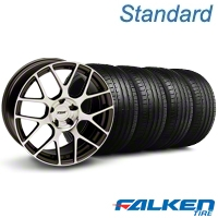 TSW Nurburgring Gunmetal Wheel & Falken Tire Kit - 20x8.5 (05-14 All) - American Muscle Wheels KIT||79573||27357||mb1