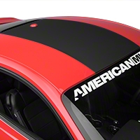 Roof Panel Decal - Matte Black (2015 All) - American Muscle Graphics 386520