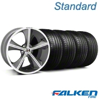 Shelby CS-70 Gunmetal Wheel & Falken Tire Kit - 20x9 (05-14 All) - American Muscle Wheels KIT||33900||mb1||79573