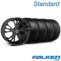 Shelby CS-1 Matte Black Wheel & Falken Tire Kit - 20x9 (05-14 All) - American Muscle Wheels KIT||79573||33906||mb1
