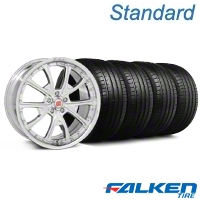 Shelby CS-40 Chrome Wheel & Falken Tire Kit - 20x9 (05-14 All) - American Muscle Wheels KIT||mb1||79573||33958