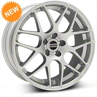 AMR Silver Wheel - 18x9 (05-14 All, Excludes 13-14 GT500) - American Muscle Wheels 38675G05